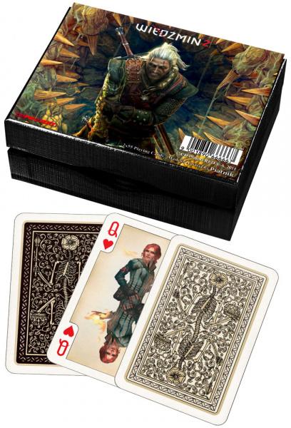 Karty 2 talie Lux - Wiedźmin