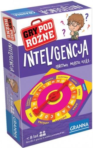 Inteligencja - gra podróżna