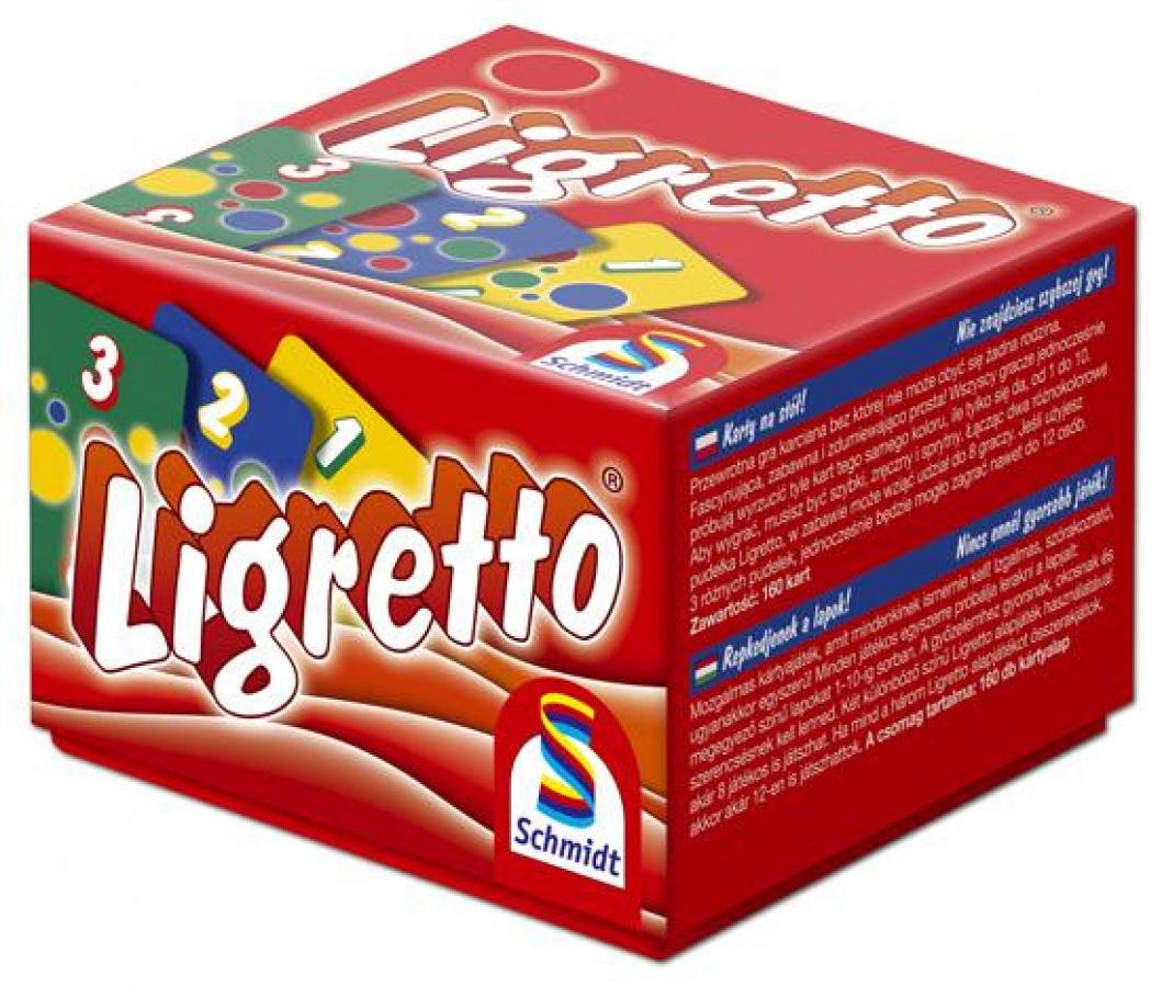 Ligretto (czerwone pudełko)