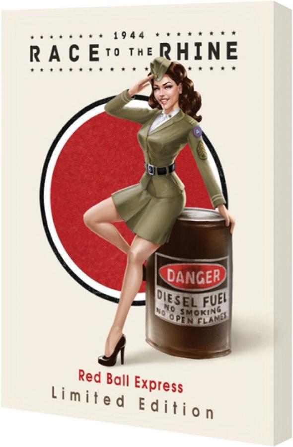 1944 Race to the Rhine (Wyścig do Renu): Red Ball Express Limited Edition