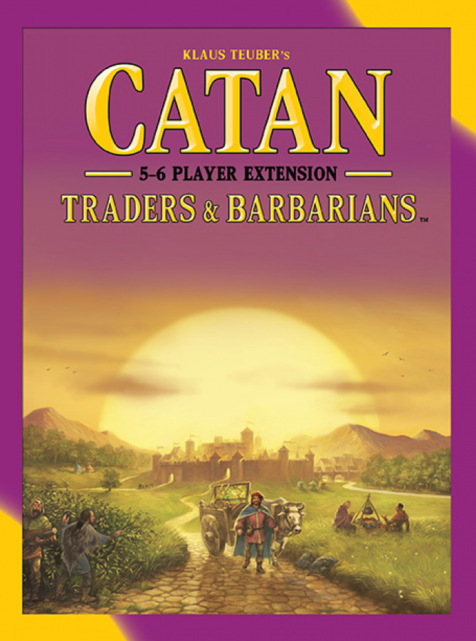 Catan: Traders & Barbarians 5-6 Player Expansion (2015)