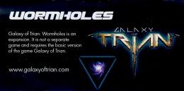 Galaxy of Trian: Womholes