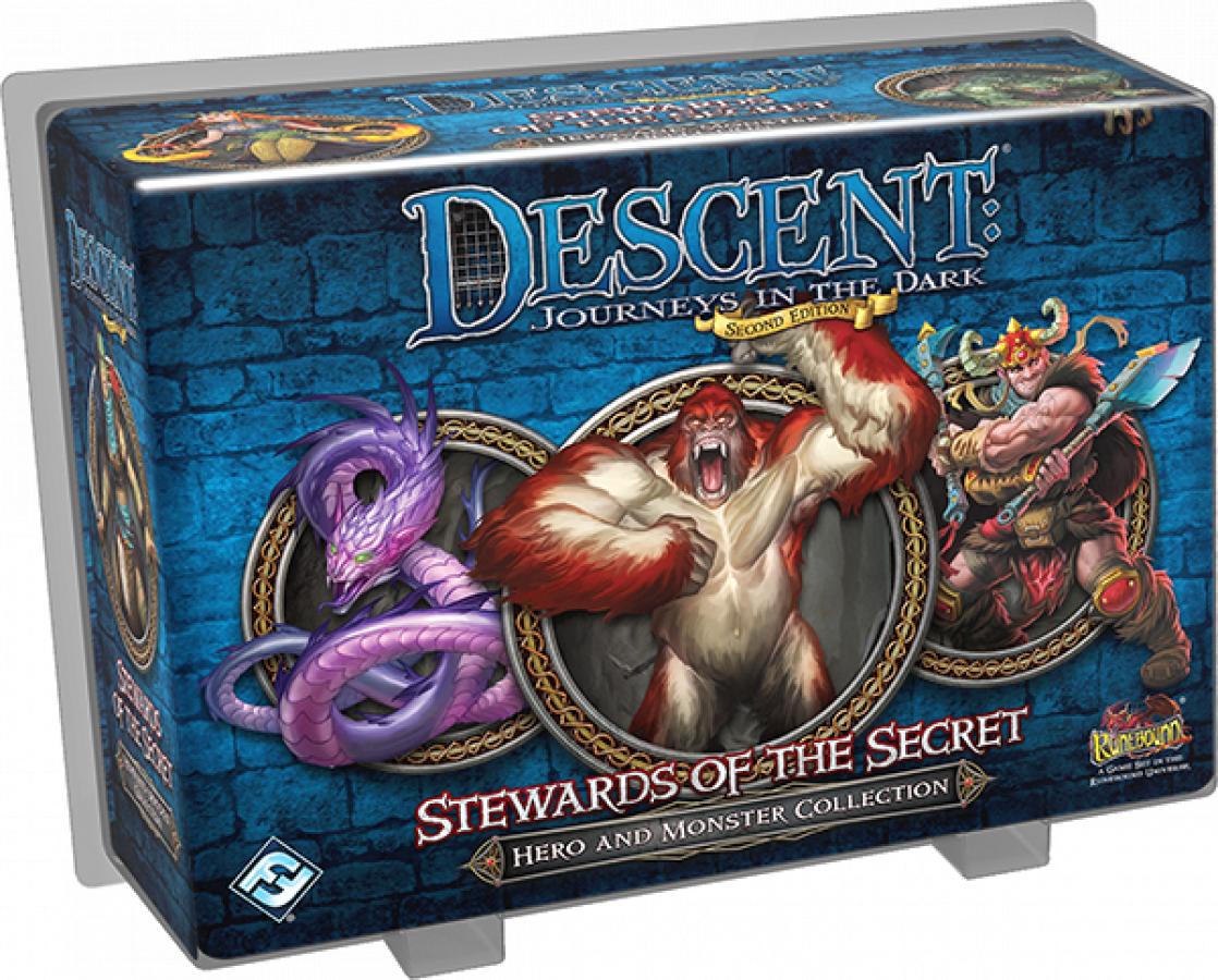 Descent: Journeys in the Dark - Stewards of the Secret
