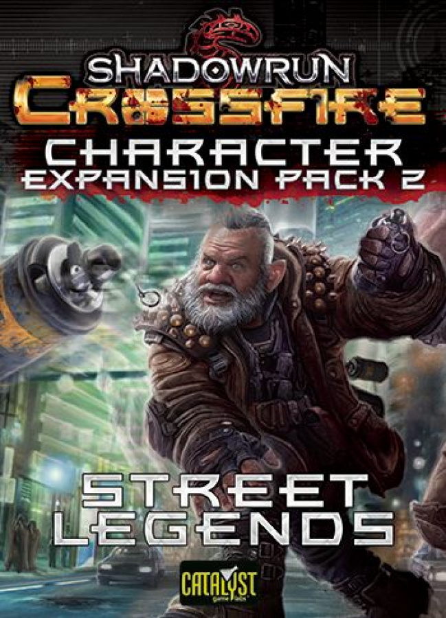 Shadowrun Crossfire: Character Expansion Pack 2