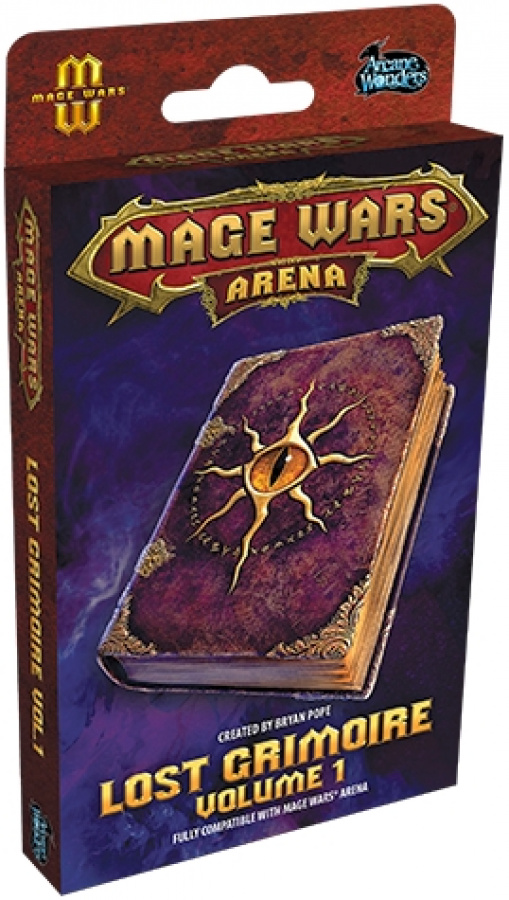 Mage Wars Arena: Lost Grimoir 1