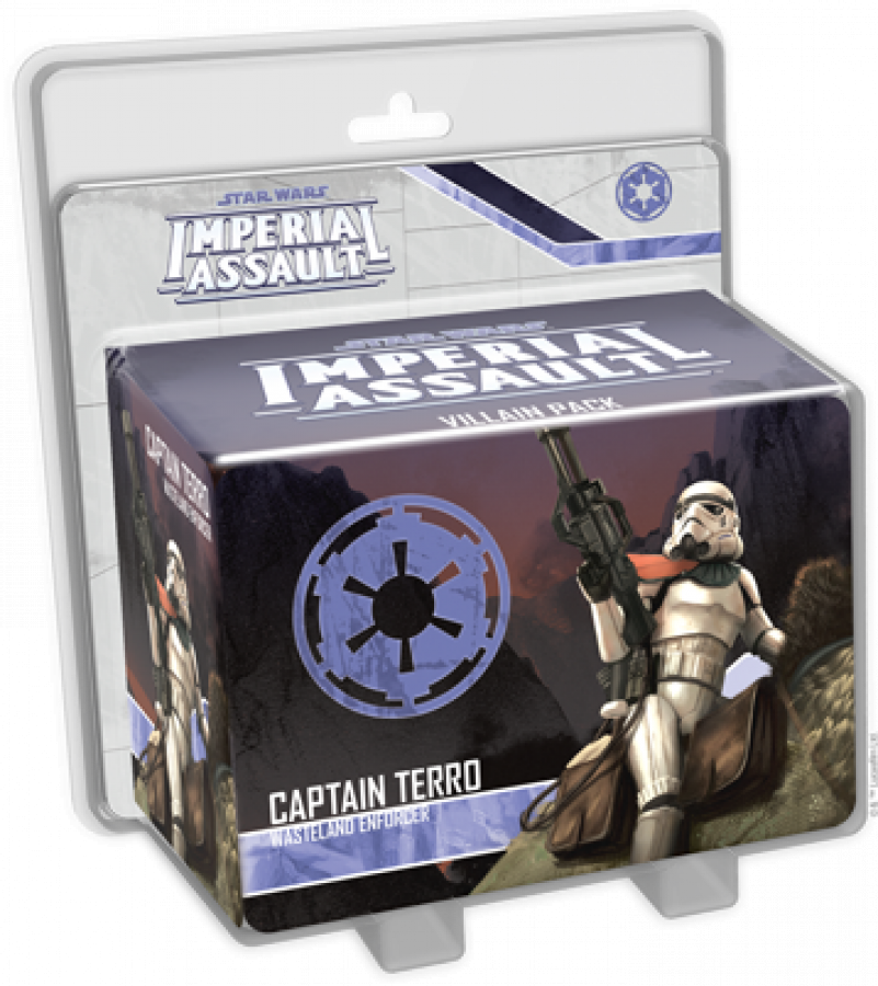 Star Wars: Imperial Assault - Captain Terro Wasteland Enforcer