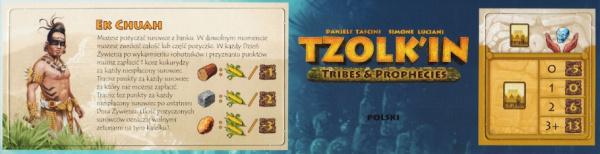 Tzolkin: Tribes & Prophecies - Ek Chuah (edycja polska)