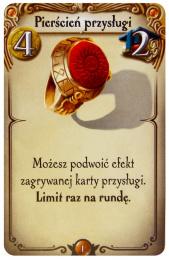 Alchemicy: Pierścień Przysługi (karta dodatkowa)