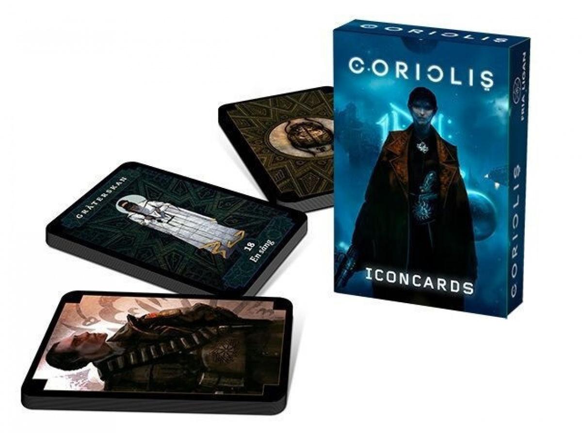 Coriolis RPG: Icon Cards