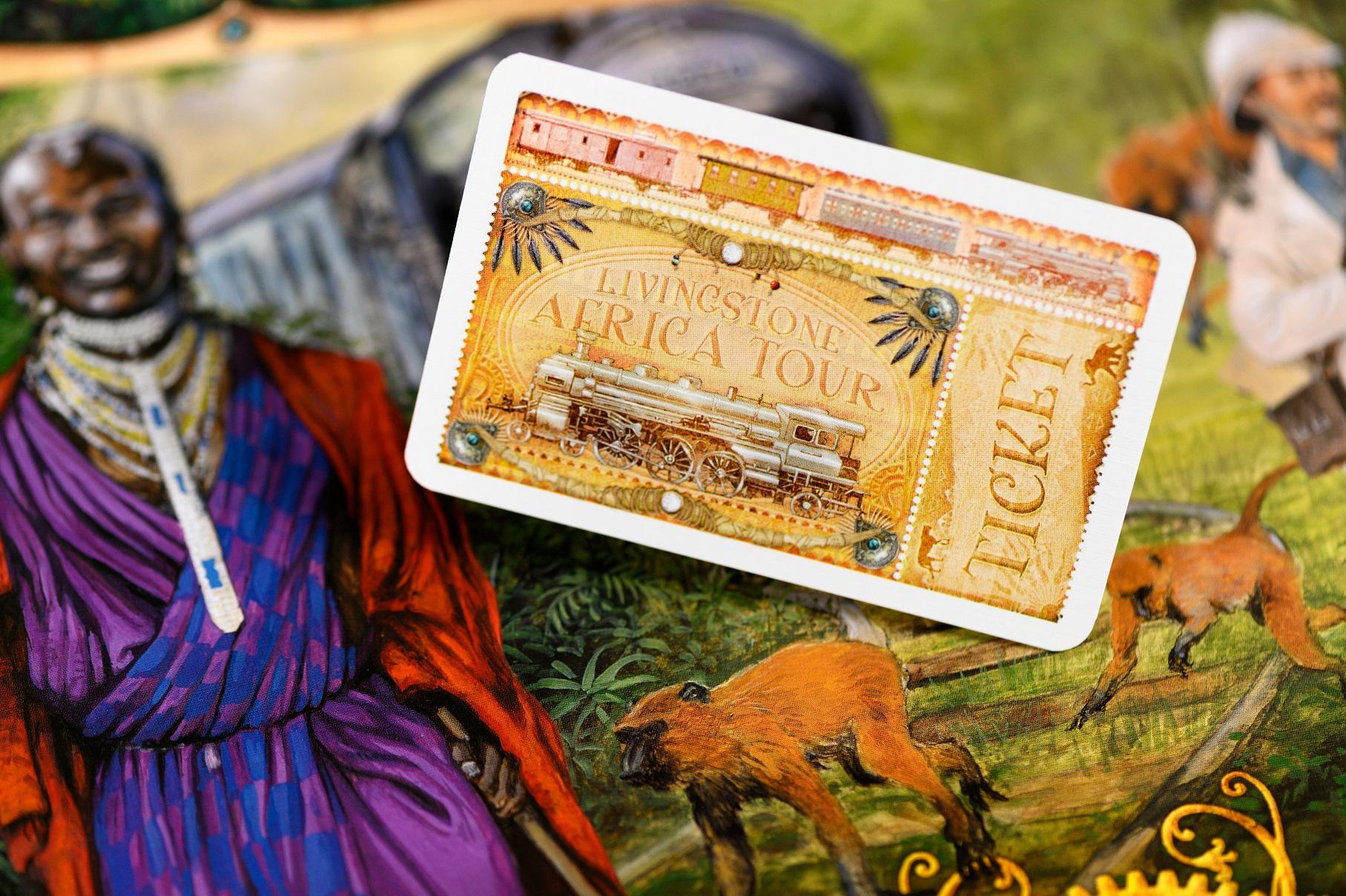 Odkryj Afrykę z czasów, gdy przemierzali ją odkrywcy.