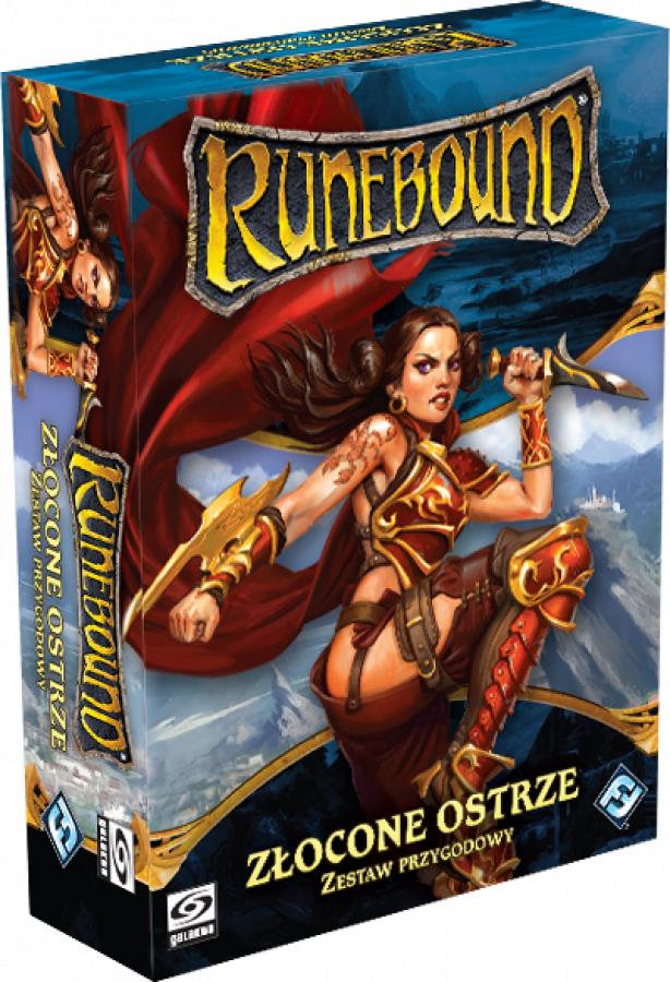 Runebound 3 - Zestaw Przygodowy - Złocone Ostrze