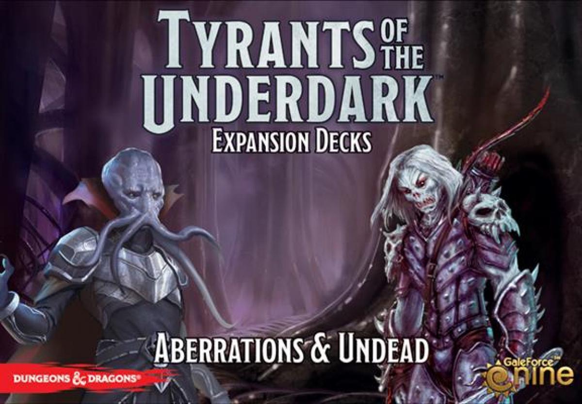 D&D Tyrants of the Underdark: Expansion Decks - Aberrations & Undead