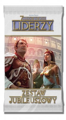 7 Cudów Świata:  Zestaw jubileuszowy - Liderzy (stara edycja)