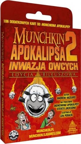Munchkin Apokalipsa 2: Inwazja Owcych - Edycja jubileuszowa