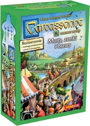Carcassonne: Mosty, zamki i bazary (druga edycja polska)