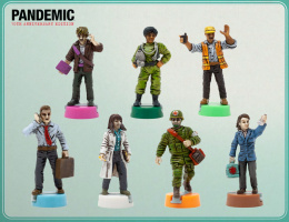 Pandemic 10th Anniversary: Pomalowane figurki