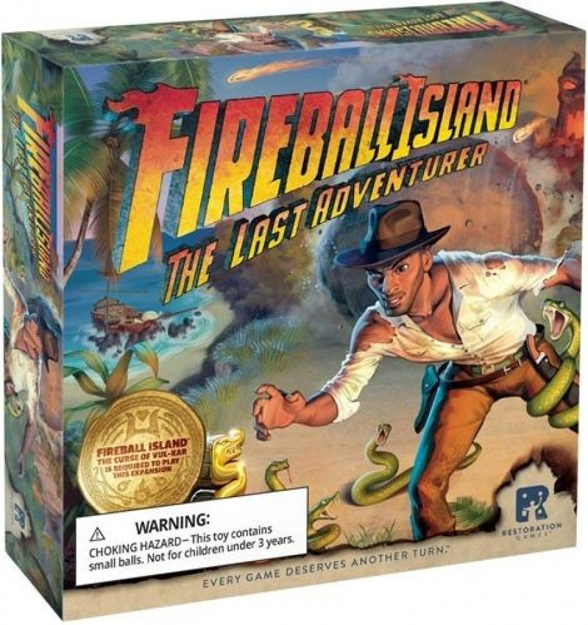 Fireball Island: The Curse of Vul-Kar - The Last Adventurer