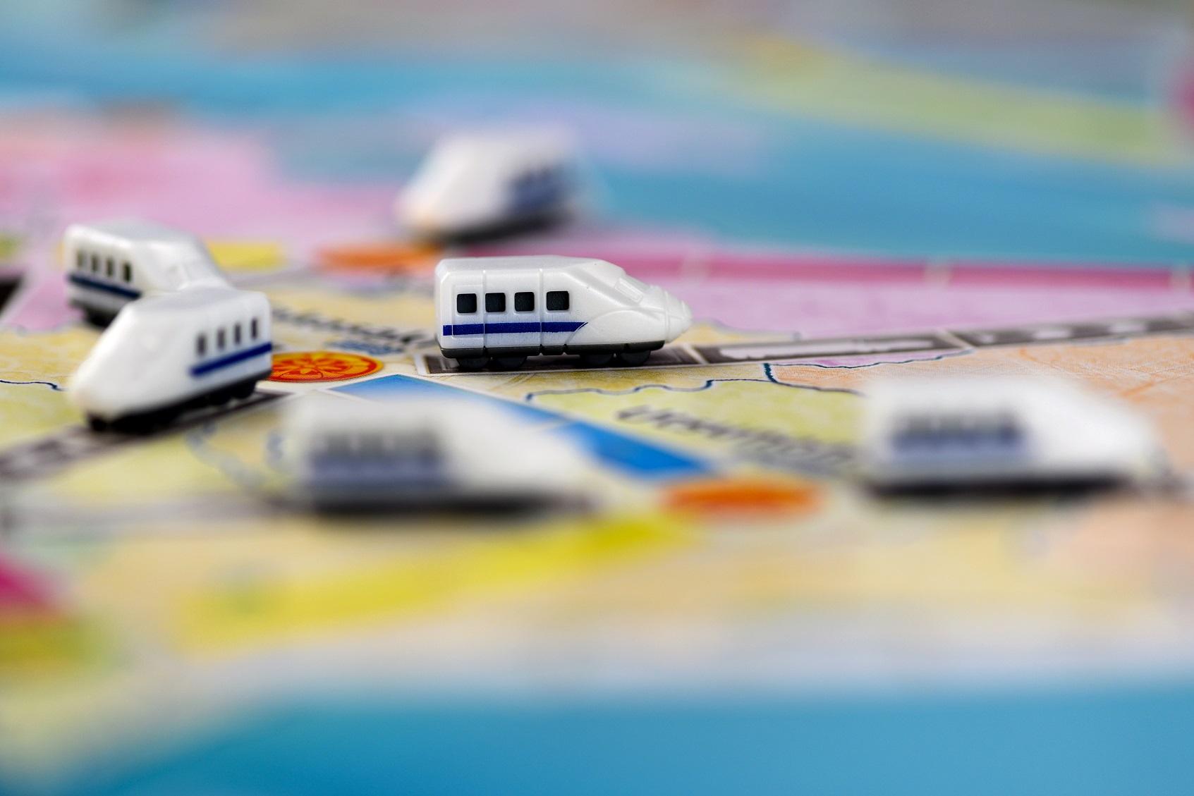 Po mapie Japonii będziemy mknąć superszybkimi pociągami.