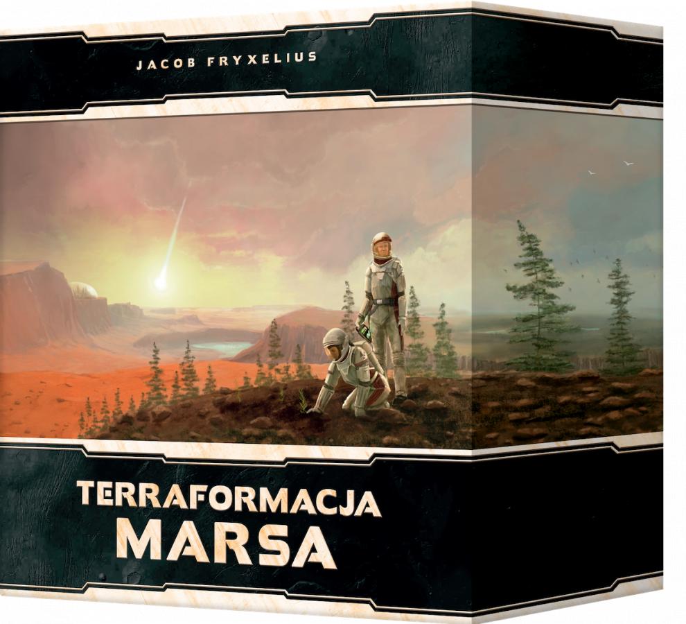 Terraformacja Marsa: Big Storage Box + elementy 3D (edycja polska)