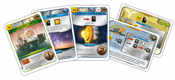 Terraformacja Marsa: Zestaw dodatkowy #5 (20 nowych kart)