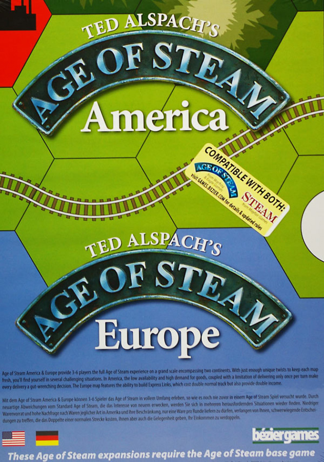 Age of Steam - America and Europe Expansion