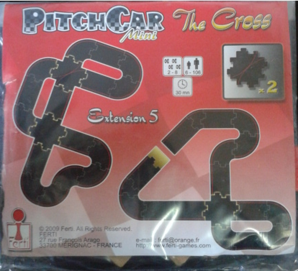 """PitchCar Mini - Extension 5 """"The Cross"""""""