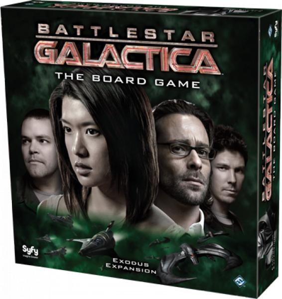 Battlestar Galactica - Exodus Expansion (edycja angielska)