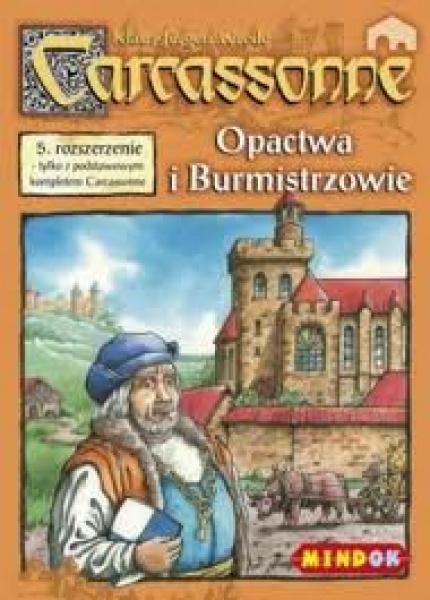 Carcassonne - Opactwo i Burmistrz (edycja polska)