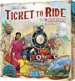 Ticket to Ride: Indie/Szwajcaria