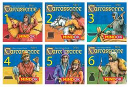 Carcassonne Mini - Zestaw dodatków