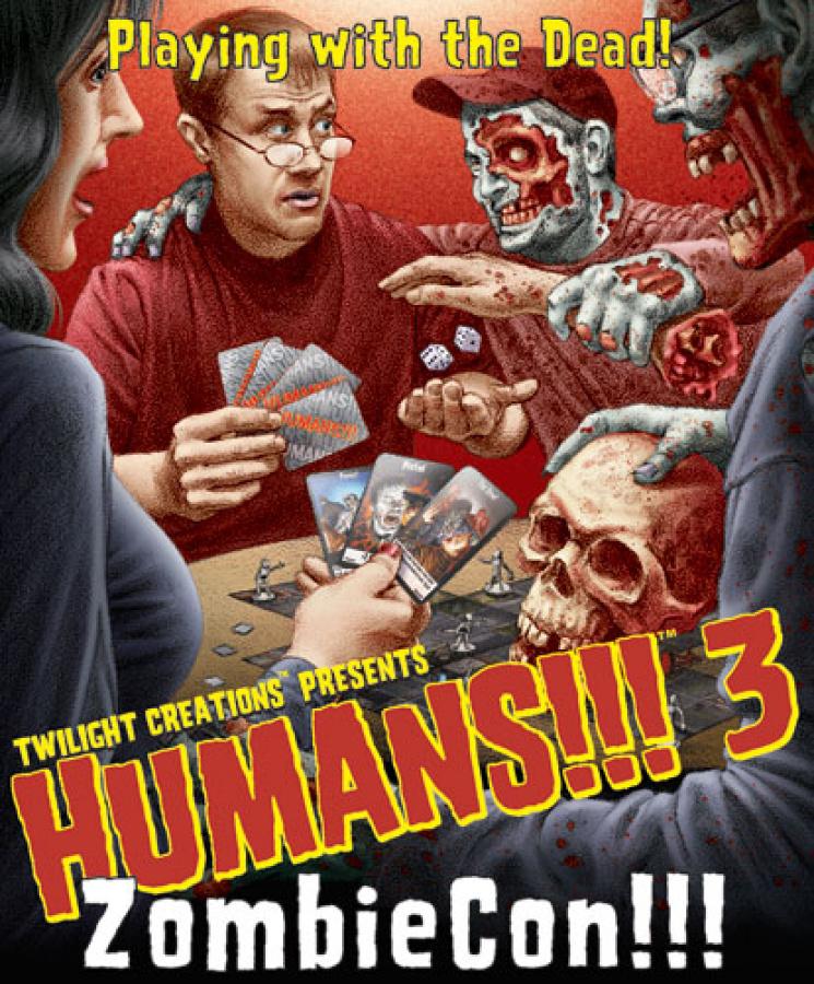 Humans!!! 3: ZombieCon