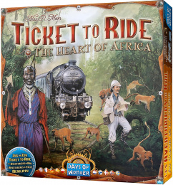 Ticket to Ride: The Heart of Africa (polska instrukcja)