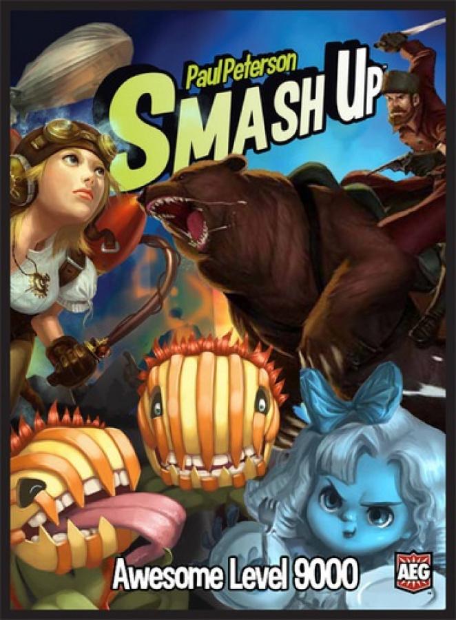 Smash Up: Awesome Level 9000 (edycja angielska)
