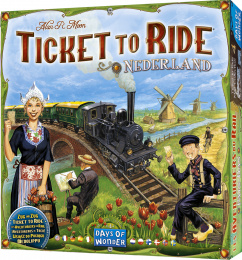 Ticket to Ride: Nederland (polska instrukcja)