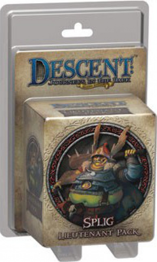 Descent: Journeys in the Dark - Splig Lieutenant Pack