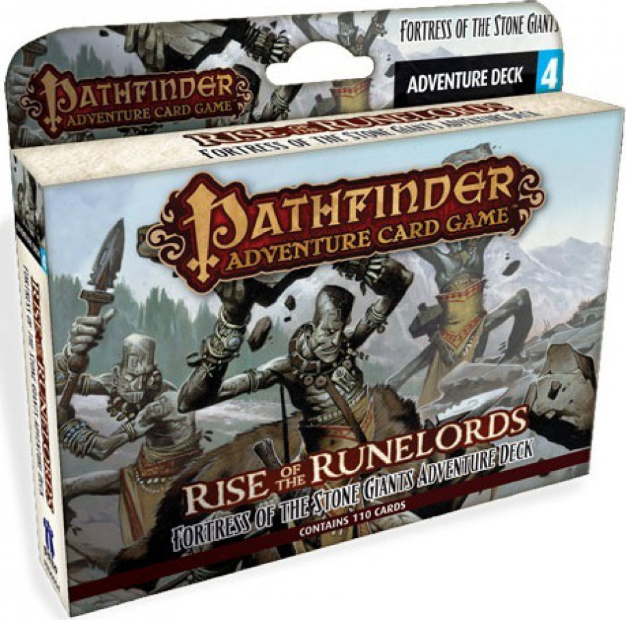 Pathfinder Adventure Card Game - Fortress of the Stone Giants Adventure Deck