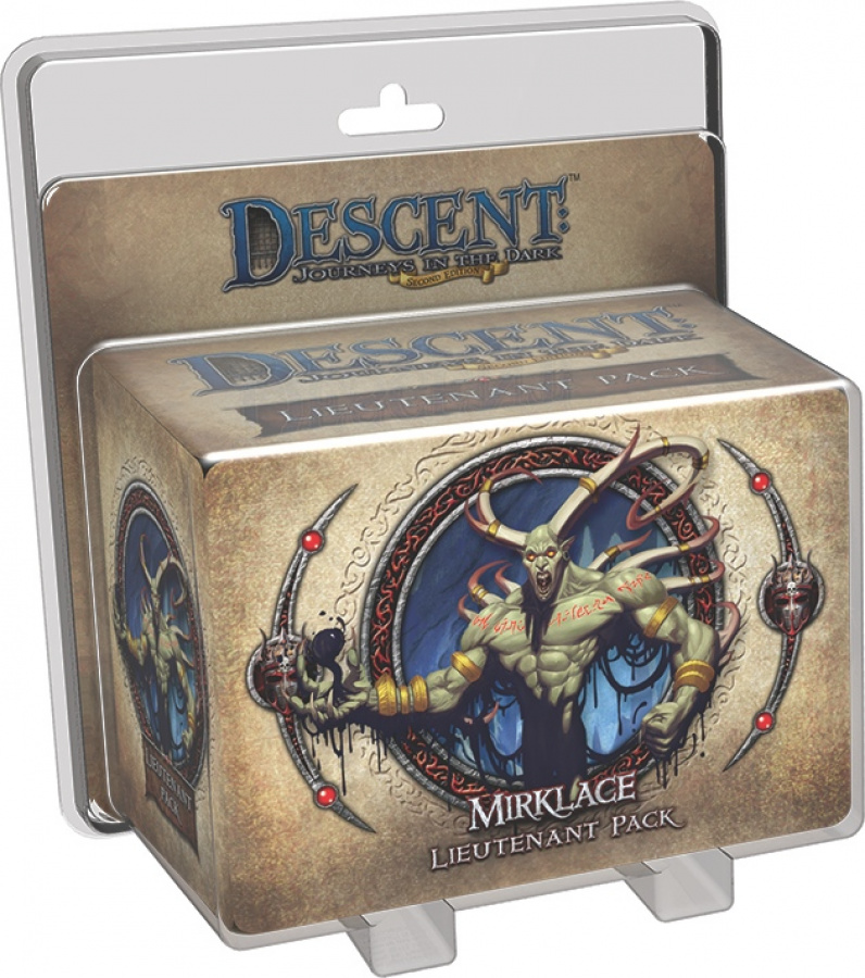 Descent: Journeys in the Dark - Gargan Mirklace Lieutenant Pack