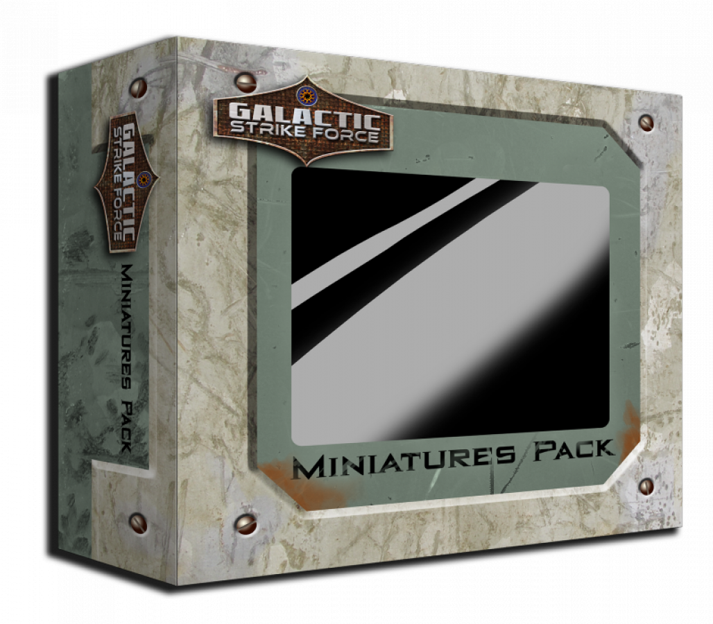 Galactic Strike Force: Ship Miniatures Pack #1