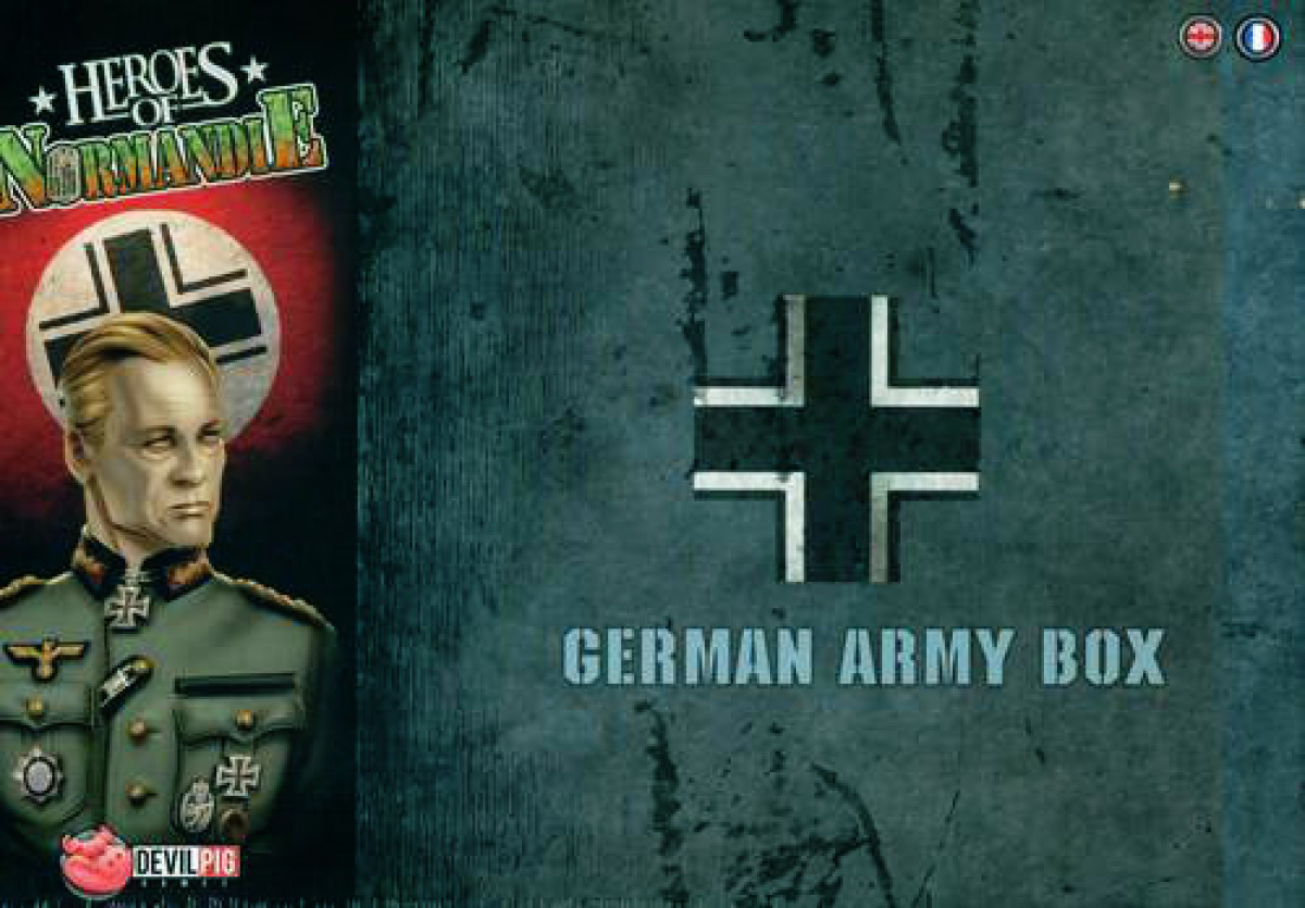Heroes of Normandie: German Army Box (edycja angielska)