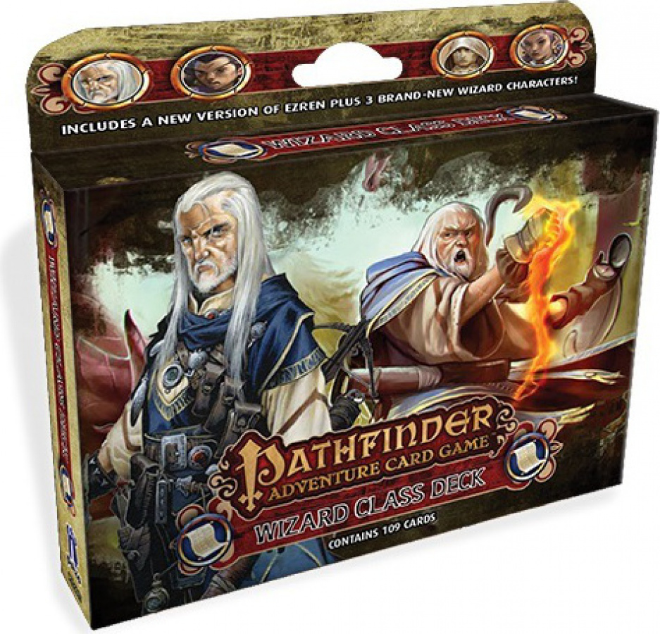 Pathfinder Adventure Card Game: Class Deck - Wizard
