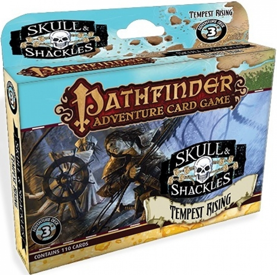 Pathfinder Adventure Card Game: Skull & Shackles - Tempest Rising Adventure Deck