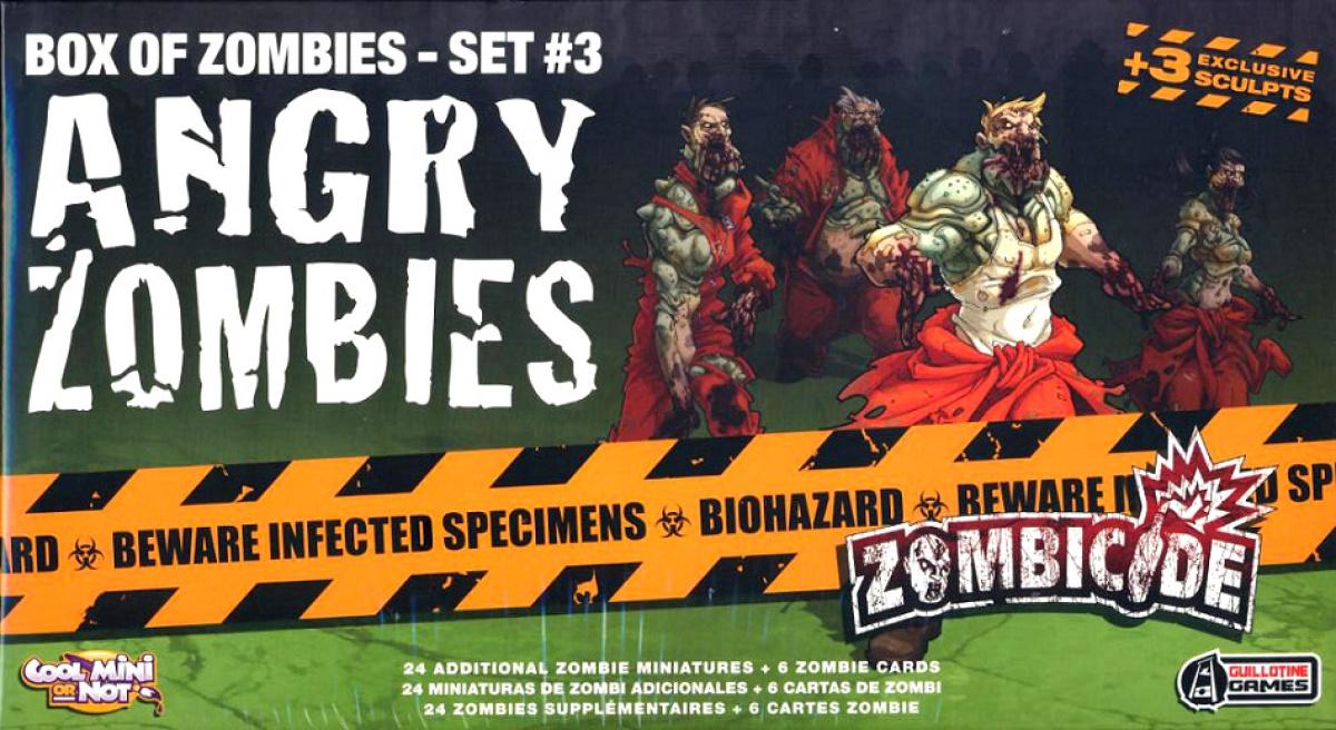 Zombicide: Angry zombies (edycja angielska)