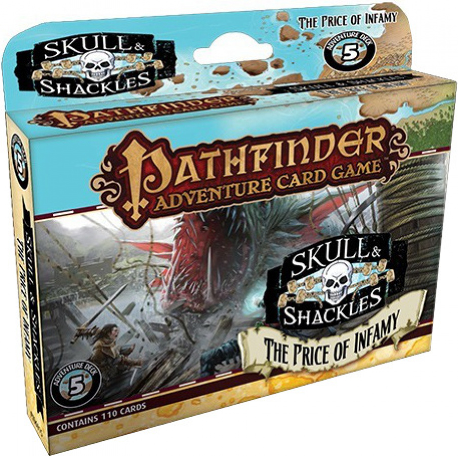 Pathfinder Adventure Card Game: Skull & Shackles - The Price of Infamy Adventure Deck