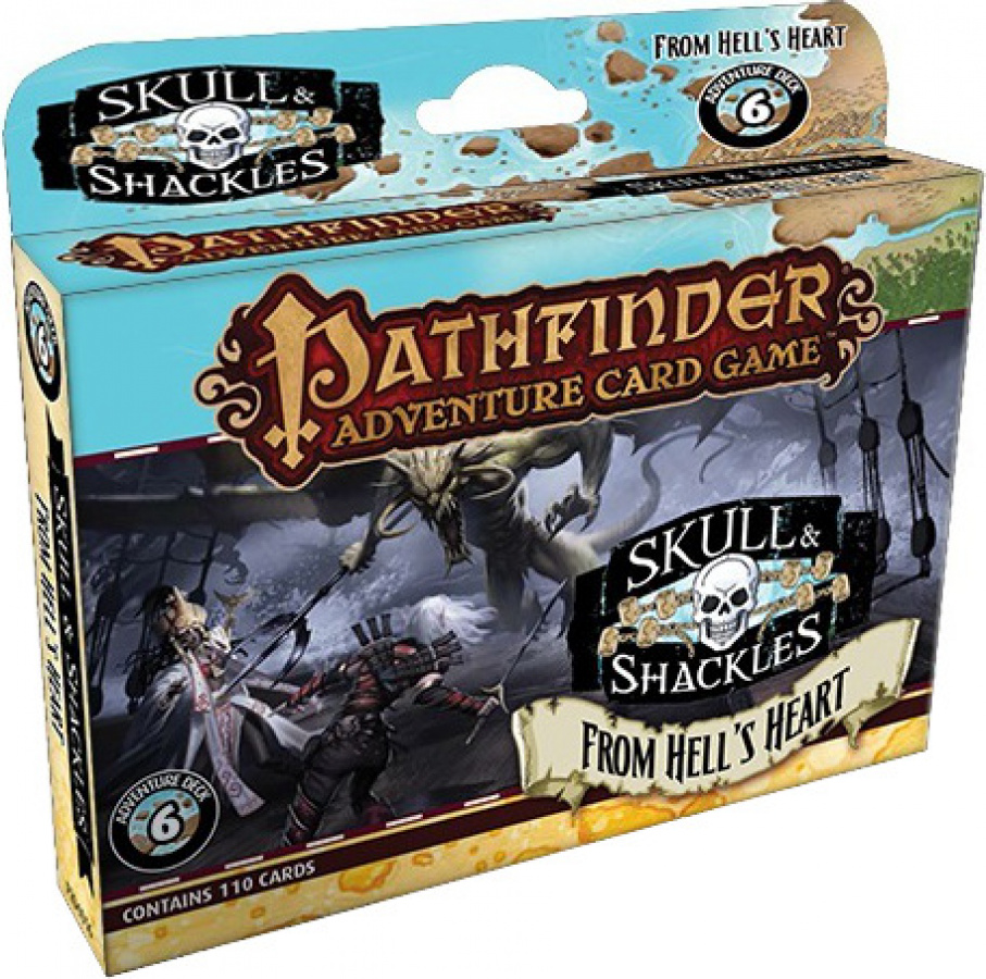 Pathfinder Adventure Card Game: Skull & Shackles - From Hell's Heart Adventure Deck
