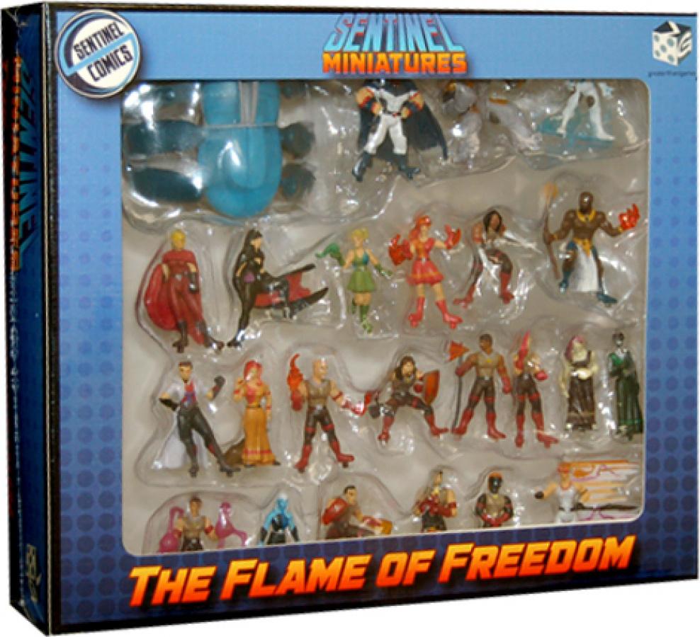 Sentinel Tactics: The Flame of Freedom Miniatures (pomalowane)
