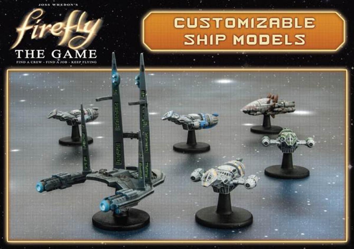 Firefly: Customizable Ship Models