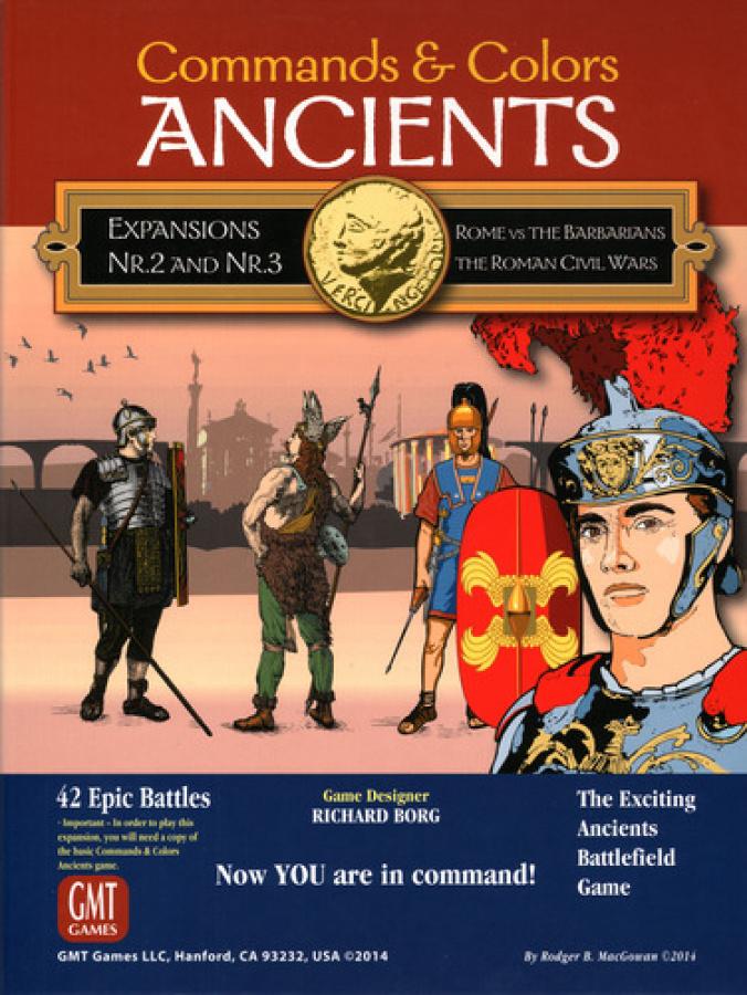 Commands & Colors: Ancients - Rome vs The Barbarians / The Roman Civil Wars - Expansion Pack #2 & #3
