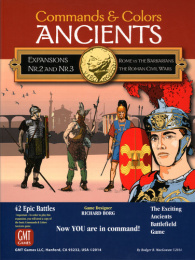 Commands & Colors: Ancients - Rome vs The Barbarians / The Roman Civil Wars - Expansion Pack #2 & #3