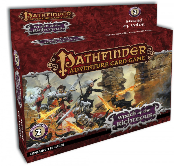 Pathfinder Adventure Card Game: Wrath of Righteous - Sword of Valor Adventure Deck