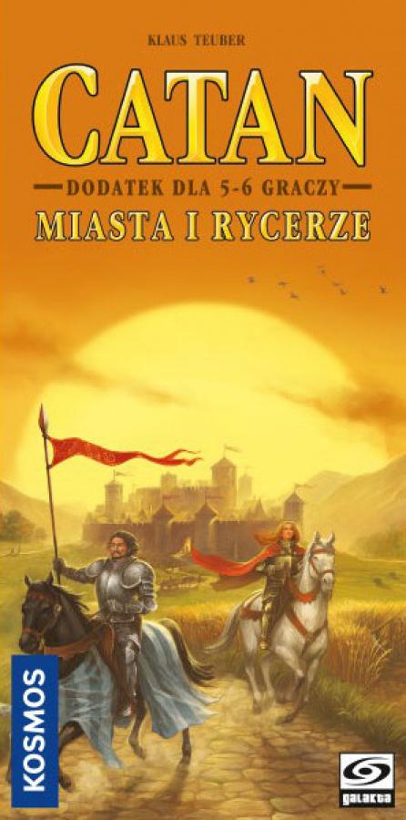 Catan - Miasta i Rycerze, dodatek dla 5-6 graczy